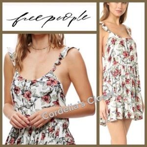 NWT! [ FREE PEOPLE ] Dear You Floral Botanical L